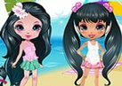 Cute Model Fashion Party Dress up